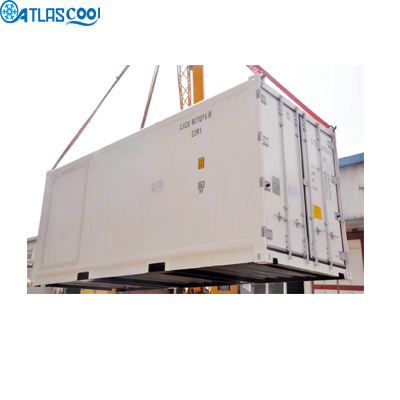 Container solar cold room small blast freezer cold storage